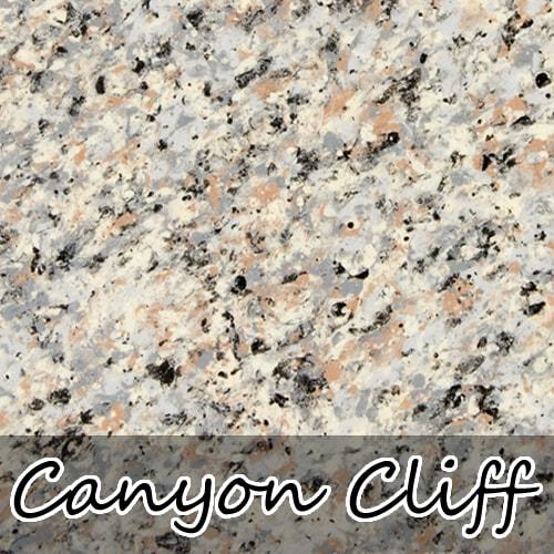 canyon cliff stoneflecks