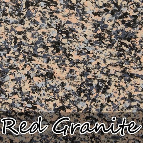 red granite stoneflecks