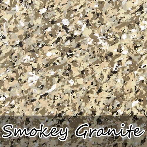 smokey granite stoneflecks